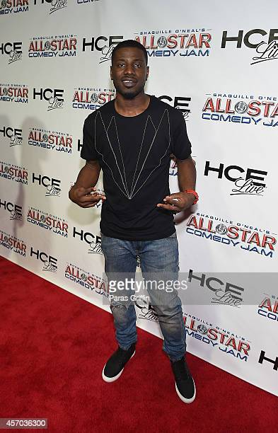 Comedian K Dubb attends the HCE Live presents Shaquille O'Neal All Star Comedy Jam at Cobb Energy Center on October 10 2014 in Atlanta Georgia