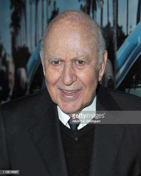 Comedian Karl Reiner arrives to the premiere of the HBO documentary His Way on March 22 2011 in Hollywood California