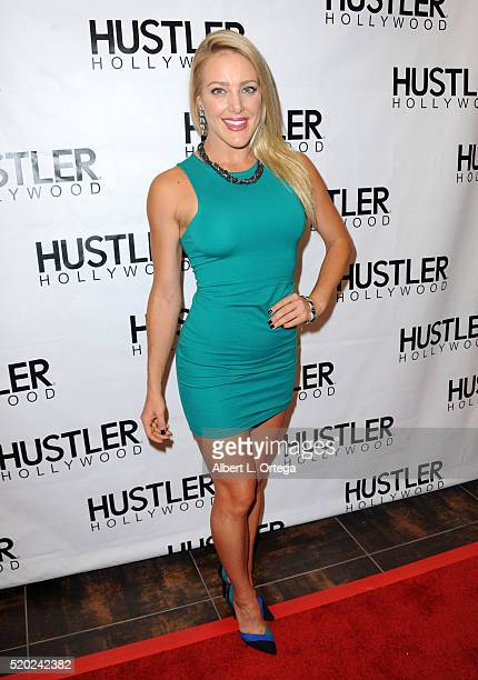 Comedian Kate Quigley at the Hustler Hollywood New Store Opening held at Hustler Hollywood on April 9 2016 in Los Angeles California