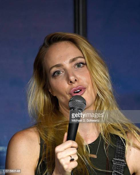 Comedian Kate Quigley performs during her appearance at The Ice House Comedy Club on June 22 2019 in Pasadena California