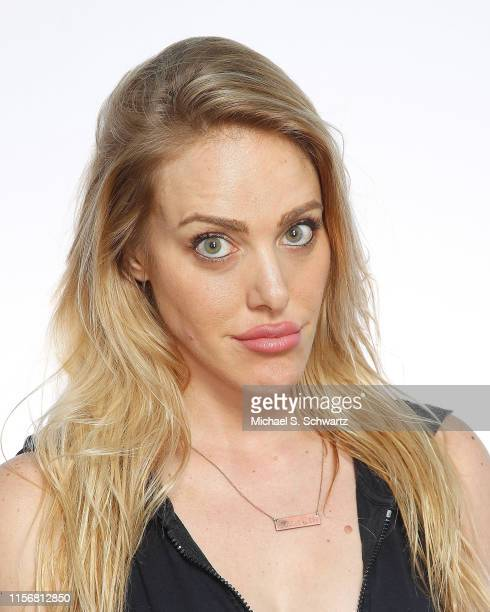 Comedian Kate Quigley poses during her appearance at The Ice House Comedy Club on July 19 2019 in Pasadena California