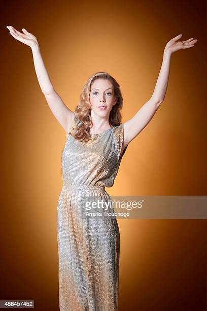 Comedian Katherine Ryan is photographed for ES magazine on July 8 2014 in London England