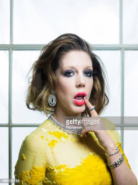 Comedian Katherine Ryan is photographed for Grazia magazine on November 16 2017 in London England