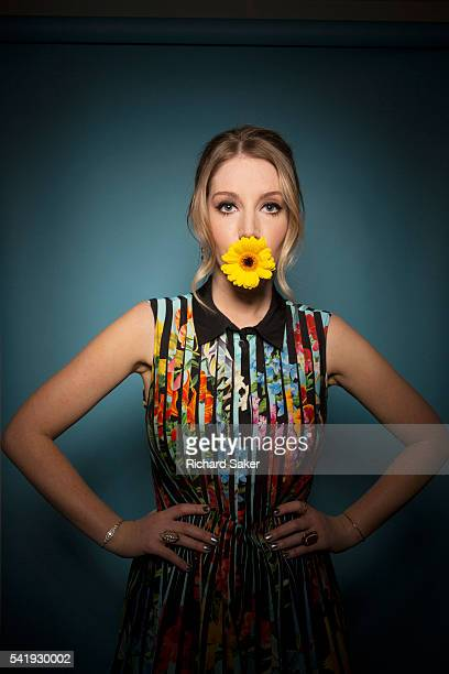 Comedian Katherine Ryan is photographed for the Observer on April 6 2016 in London England