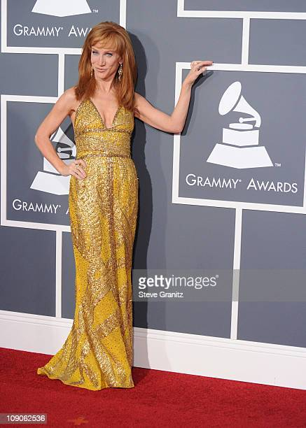 Comedian Kathy Griffin arrives at The 53rd Annual GRAMMY Awards held at Staples Center on February 13 2011 in Los Angeles California