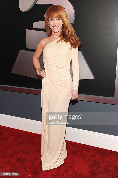 Comedian Kathy Griffin arrives at the 54th Annual GRAMMY Awards held at Staples Center on February 12 2012 in Los Angeles California