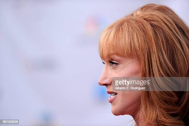 Comedian Kathy Griffin arrives at The Cable Show 2010 'An Evening With NBC Universal' on May 12 2010 in Universal City California