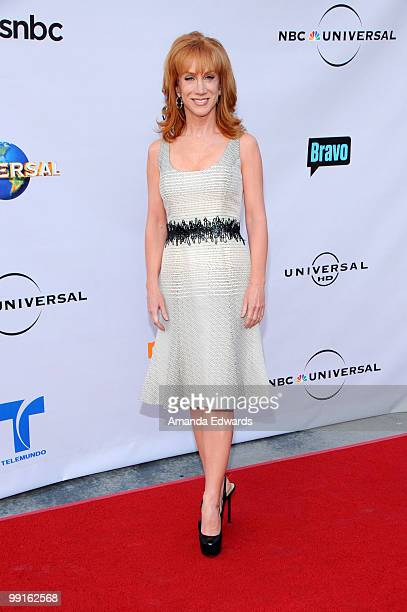 Comedian Kathy Griffin arrives at the Cable Show 2010 featuring an evening with NBC Universal at Universal Studios Hollywood on May 12 2010 in...
