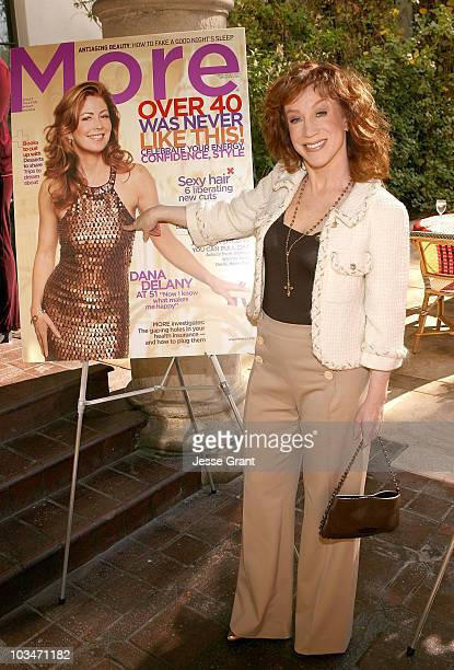 Comedian Kathy Griffin at the More Magazine and Women In Film filmmaker luncheon at Chateau Marmont on December 10 2007 in West Hollywood California