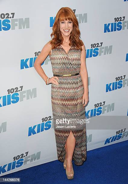 Comedian Kathy Griffin attends 1027 KIIS FM's Wango Tango at The Home Depot Center on May 12 2012 in Carson California