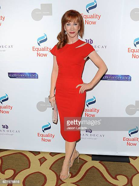 Comedian Kathy Griffin attends Equality Now's 3rd annual Make Equality Reality gala at Montage Beverly Hills on December 5 2016 in Beverly Hills...