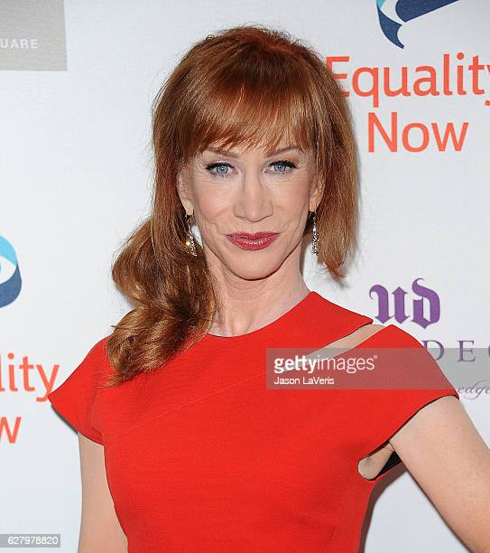 Comedian Kathy Griffin attends Equality Now's 3rd annual 'Make Equality Reality' gala at Montage Beverly Hills on December 5 2016 in Beverly Hills...