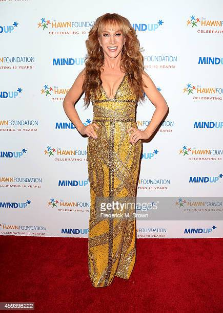 Comedian Kathy Griffin attends Goldie Hawn's Inaugural 'Love In For Kids' Benefiting The Hawn Foundation's MindUp Program at Ron Burkle's Green Acres...
