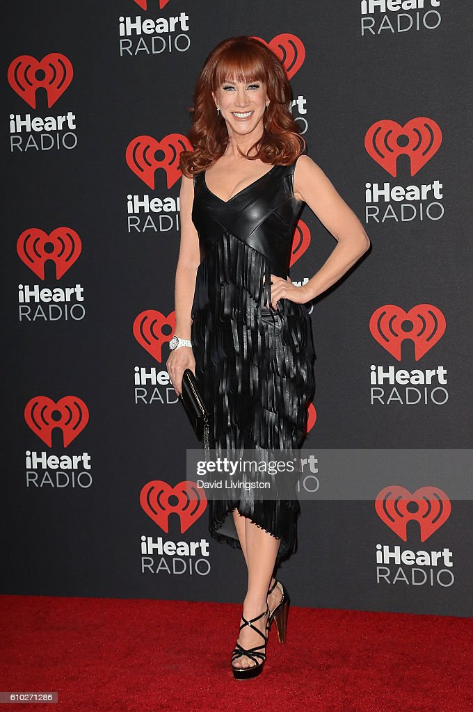 Comedian Kathy Griffin attends the 2016 iHeartRadio Music Festival Night 2 at T-Mobile Arena on September 24, 2016 in Las Vegas, Nevada.