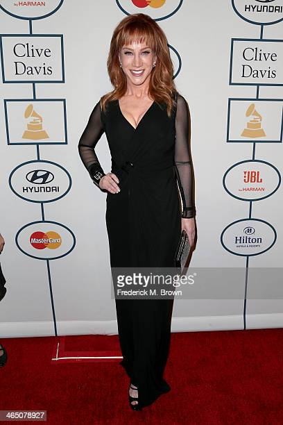 Comedian Kathy Griffin attends the 56th annual GRAMMY Awards PreGRAMMY Gala and Salute to Industry Icons honoring Lucian Grainge at The Beverly...