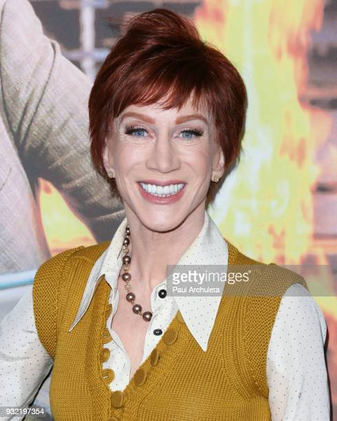 Comedian Kathy Griffin attends the screening of HBO's The Zen Diaries Of Garry Shandling at Avalon on March 14 2018 in Hollywood California