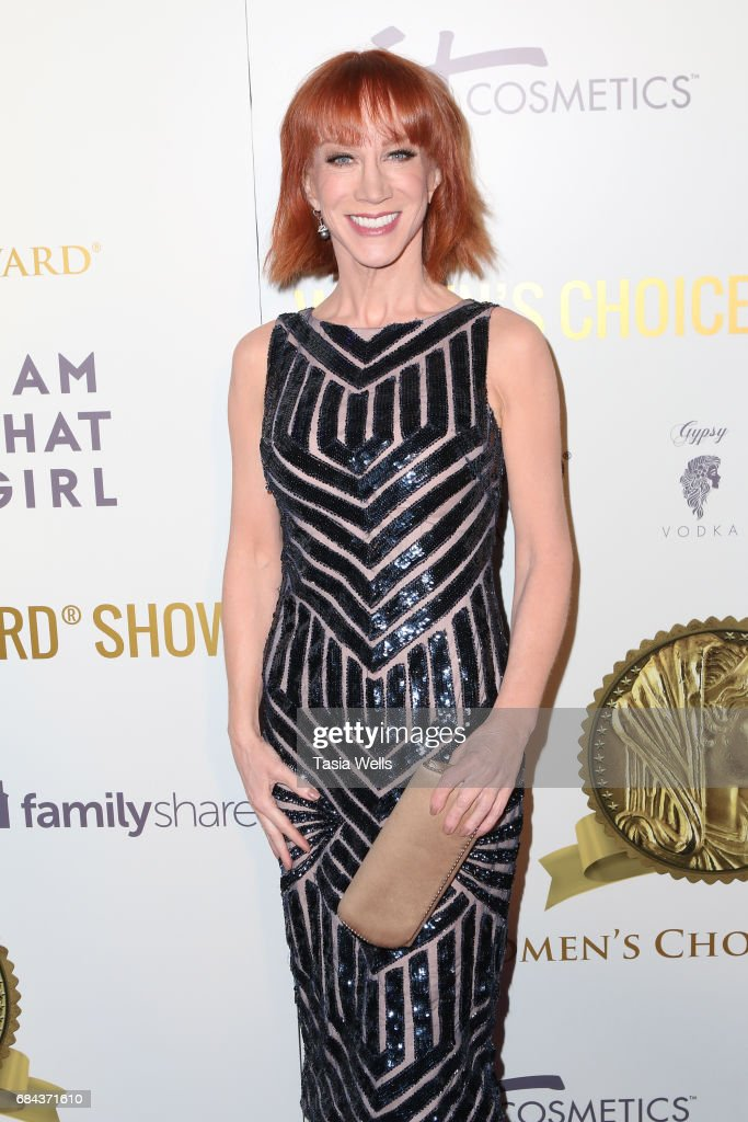 Comedian Kathy Griffin attends the Women's Choice Award Show at Avalon Hollywood on May 17, 2017 in Los Angeles, California.