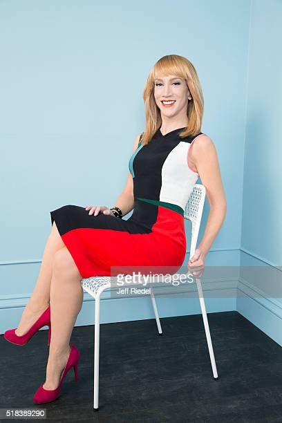 Comedian Kathy Griffin is photographed for TV Guide Magazine on January 15 2015 in Pasadena California