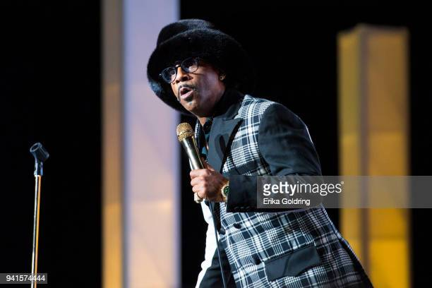 Comedian Katt Williams performs during the 1111 RNS World Tour at UNO Lakefront Arena on March 31 2018 in New Orleans Louisiana