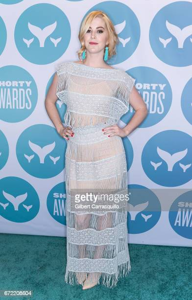 Comedian Kelsey Darragh attends the 9th Annual Shorty Awards at PlayStation Theater on April 23 2017 in New York City