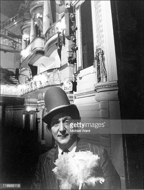 Comedian Ken Dodd at the Palace Theatre London 1977