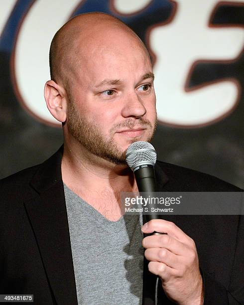 Comedian Ken Garr performs during his appearance at The Ice House Comedy Club on May 23 2014 in Pasadena California