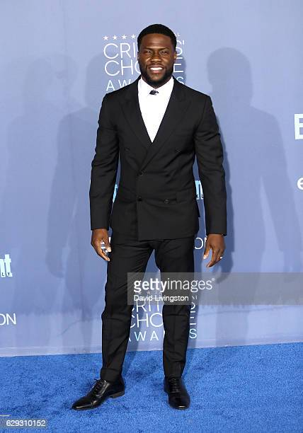 Comedian Kevin Hart attends the 22nd Annual Critics' Choice Awards at Barker Hangar on December 11 2016 in Santa Monica California