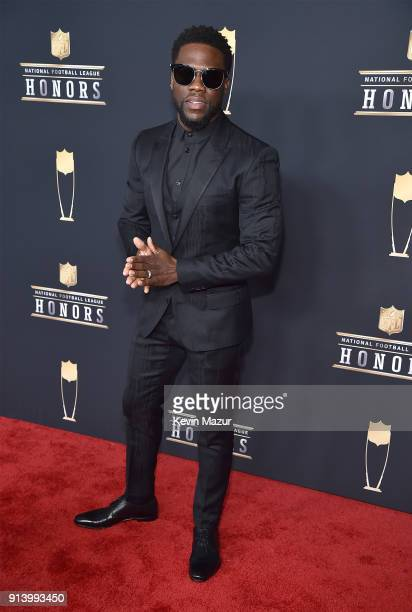 Comedian Kevin Hart attends the NFL Honors at University of Minnesota on February 3 2018 in Minneapolis Minnesota