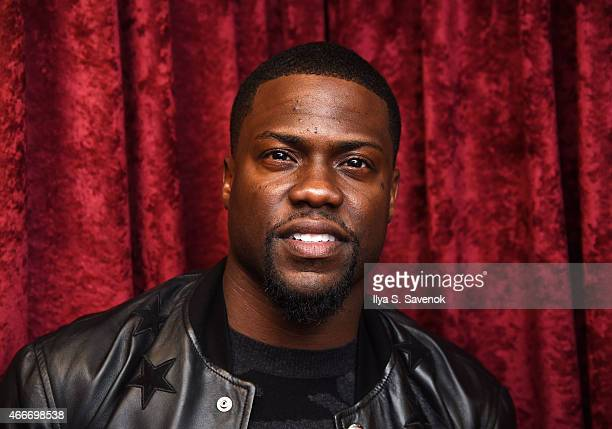 Comedian Kevin Hart visits the SiriusXM Studios on March 18 2015 in New York City