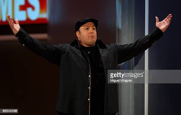 Comedian Kevin James attends the 'Wetten dass...?' show at the Olympiahalle on March 21, 2009 in Munich, Germany.