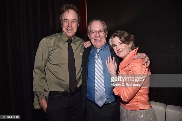 Comedian Kevin Nealon actors Michael McKean and Annette O'Toole attend the International Myeloma Foundation 10th Annual Comedy Celebration at the...