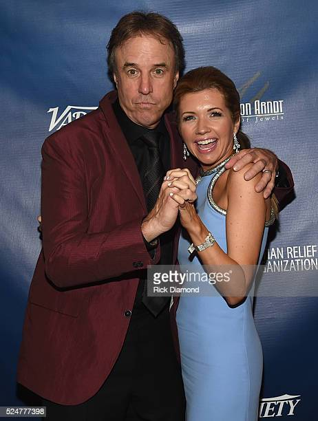 Comedian Kevin Nealon and Actor Susan Yeagley attend the 1st Annual Nashville Shines for Haiti concert benefiting J/P Haitian Relief Organization Day...