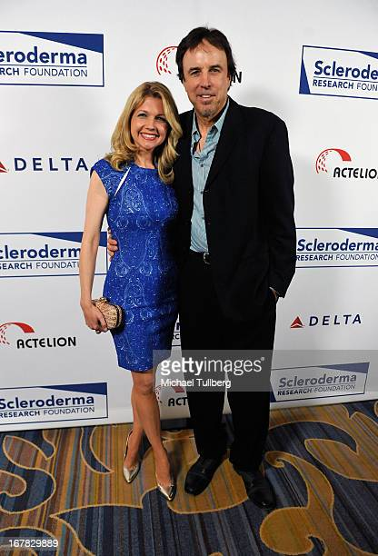 Comedian Kevin Nealon and wife Susan Yeagley attend the Cool Comedy Hot Cuisine Event To Benefit The Scleroderma Research Foundation event at Regent...