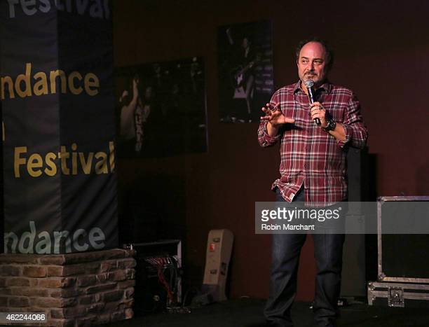 Comedian Kevin Pollak speaks onstage at the Stand Up Comedy Night during the 2015 Sundance Film Festival on January 25 2015 in Park City Utah