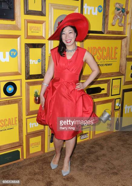 Comedian Kristina Wong attends premiere of TruTv's 'Upscale With Prentice Penny' at The London Hotel on March 21 2017 in West Hollywood California