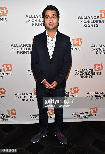 Comedian Kumail Nanjiani attends The Alliance For Children's Rights' Right To Laugh Benefit at The Avalon on May 27, 2015 in Hollywood, California.