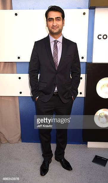 Comedian Kumail Nanjiani attends The Comedy Central Roast of Justin Bieber at Sony Pictures Studios on March 14 2015 in Los Angeles California