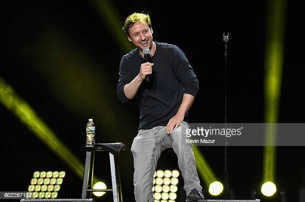 Comedian Kyle Dunnigan performs onstage during Oddball Comedy Festival at Nikon at Jones Beach Theater on September 10, 2016 in Wantagh, New York.