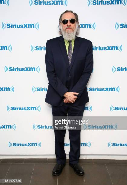 Comedian Larry Charles visits the SiriusXM Studios on February 22 2019 in New York City