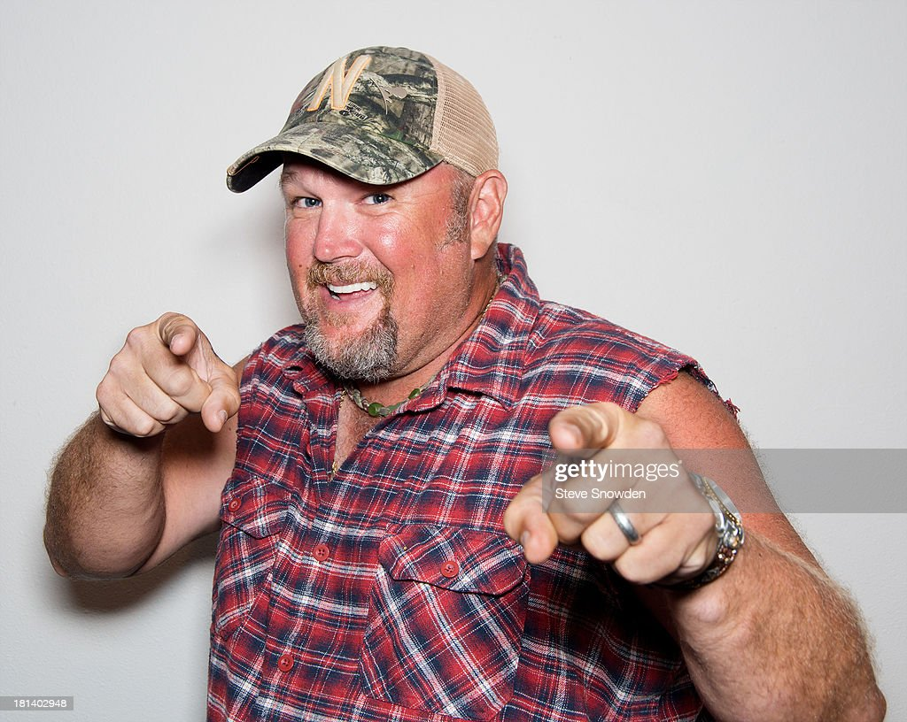Comedian Larry The Cable Guy Performs At Route 66 Casino's Legends Theater : News Photo