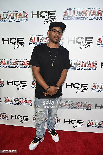 Comedian Lavar Walker attends the HCE Live presents Shaquille O'Neal All Star Comedy Jam at Cobb Energy Center on October 10 2014 in Atlanta Georgia