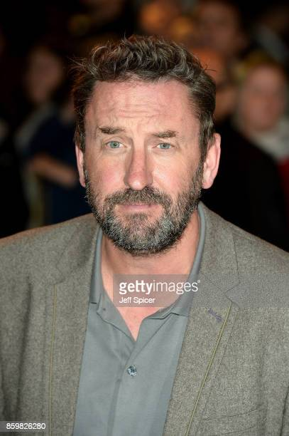 Comedian Lee Mack attends the opening night of 'Mel Brooks' Young Frankenstein' at Garrick Theatre on October 10 2017 in London England