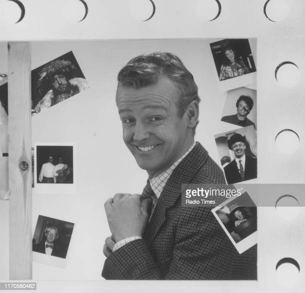 Comedian Les Dennis as his character 'Richard Pranny' for the BBC television show 'The Les Dennis Laughter Show' 1988