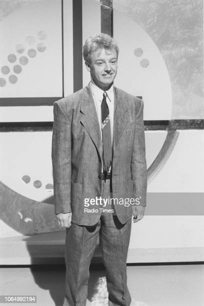 Comedian Les Dennis in a sketch from the comedy television series 'The Les Dennis Laughter Show' March 6th 1988