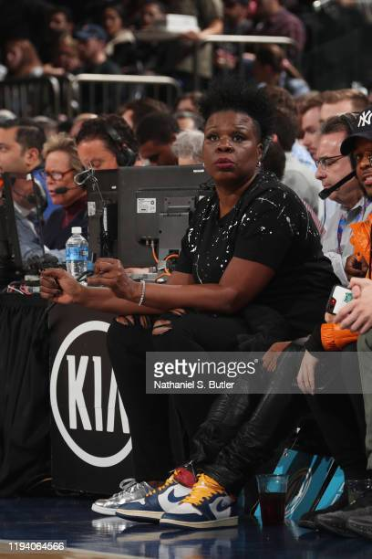Comedian, Leslie Jones, attends a game between the Phoenix Suns and the New York Knicks on January 16, 2020 at Madison Square Garden in New York...