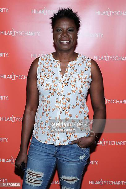 Comedian Leslie Jones attends HFC NYC presented by Hilarity for Charity at Highline Ballroom on June 29 2016 in New York City