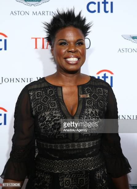 Comedian Leslie Jones attends the 2017 TIME 100 Gala at Jazz at Lincoln Center in New York United States on April 25 2017