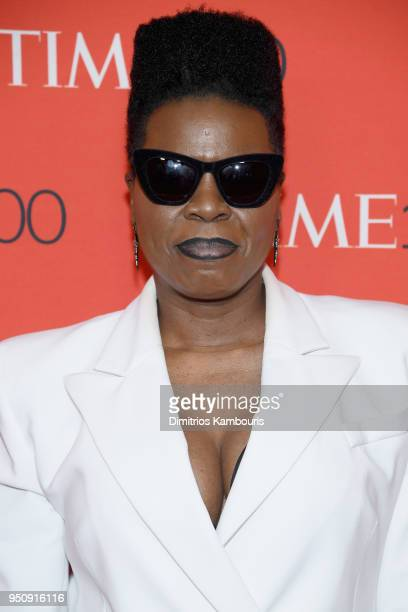 Comedian Leslie Jones attends the 2018 Time 100 Gala at Jazz at Lincoln Center on April 24 2018 in New York City