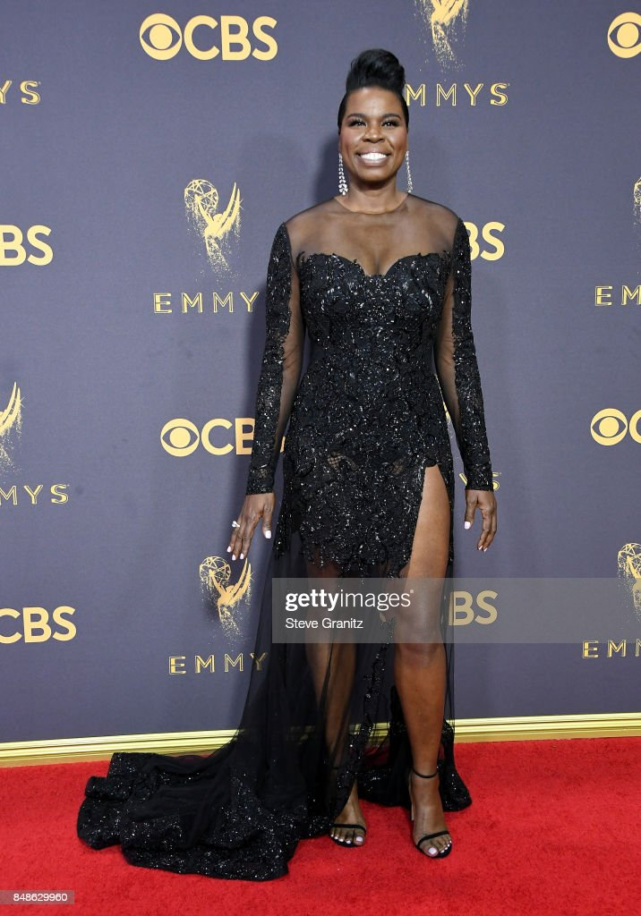 Comedian Leslie Jones attends the 69th Annual Primetime Emmy Awards at Microsoft Theater on September 17, 2017 in Los Angeles, California.