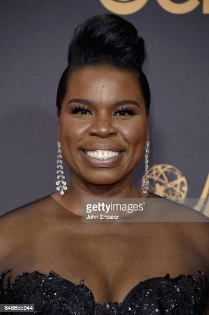 Comedian Leslie Jones attends the 69th Annual Primetime Emmy Awards at Microsoft Theater on September 17 2017 in Los Angeles California